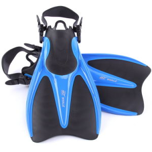 Fashion Adult Blue Capable Swimming Fins (FN-803) pictures & photos
