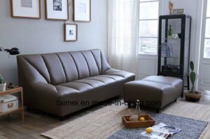 Promotional Leisure Top Grain Leather Sofa Set (1+2+3) pictures & photos