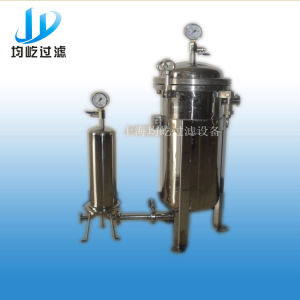 Stainless Steel 304 Pocket Water Filter Housing pictures & photos