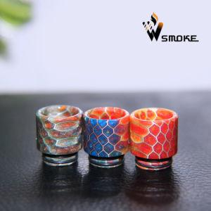 2017 Vivismoke Epoxy Tfv8 Resin Drip Tip Honeycomb Drip Tip Hive Resin Drip Tip pictures & photos