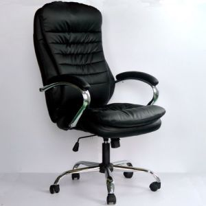 Soft PU Upholstery Office Swivel Chair pictures & photos