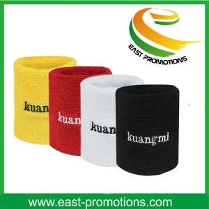 Customs Promotion Gift Cotton Wrist Sweatband pictures & photos