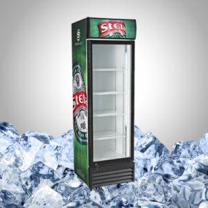 Upright Single Glass Door Beverage Cooler pictures & photos