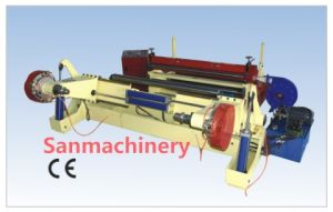 Paper Slitting and Rewinding Machine/Slitter and Rewinder with High Efficiency (SANSR-1600) pictures & photos