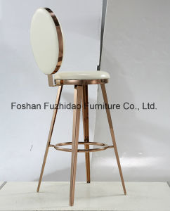 High quality Best Price PU Cushion High Legs Bar Chair for Sales pictures & photos