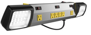 USA Style Metal Power Strip with LED Lighting pictures & photos