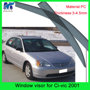 Auto Accesssories Window Roof Visors Sun Guard for Hodna Civic 01 pictures & photos