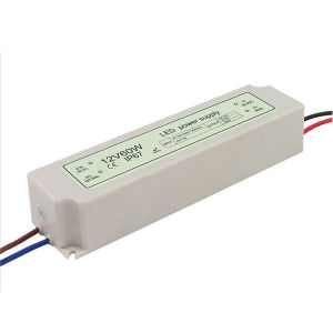Plastic Waterproof LED Driver 12V80W pictures & photos