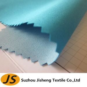 75D*300d Waterproof PU Milky Coated Polyester Plain Fabric pictures & photos