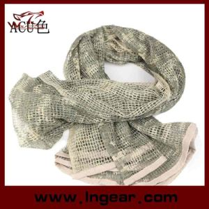 Multifunctional Tactical Scarf Scrim Scarf Airsoft Scarf Headwear Scarf Digital Acu Camo pictures & photos