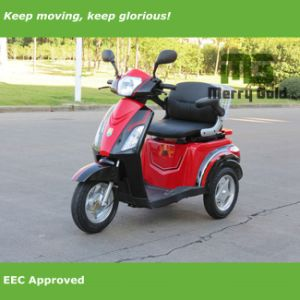 500W Electric Mobility Scooter with One Seat for Disabled Person pictures & photos