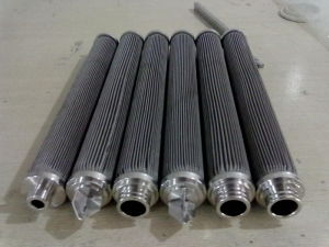Replacement Hydraulikfilter Stainless Steel Filter Element pictures & photos