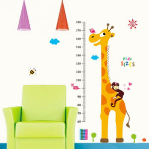 Cartoon Children Kids Growth Height Measure Chart Wall Stickers Decal pictures & photos