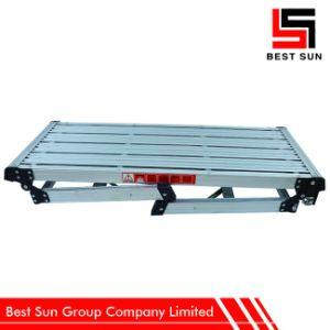 Easy Handling Aluminum Platform Ladder pictures & photos