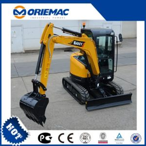 Sany Sy35c Mini Excavator with Excavator Bucket 0.12cbm pictures & photos