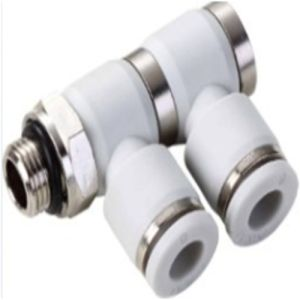 Air Hose Coupling Male PBT Material Air Quick Two Way Pipe Fitting pictures & photos