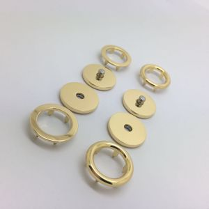 Painted and Electroplated Round Sewing Alloy Snap Fastener Button for Women Clothing pictures & photos