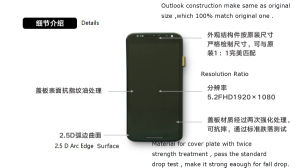 Wholesale Mobile Phone LCD for Motorala X2 pictures & photos