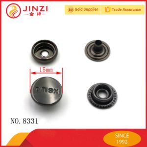 Custom High End Metal Prong Snap Button of Chinese Manufacturer pictures & photos