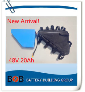 New Arrival Triangle 48V 20ah Lithium Battery Pack for Electric Bike with 13s10p pictures & photos