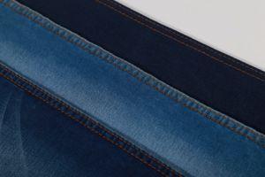 Twill Cotton Polyester Spandex Viscose Heavy Denim Fabric 11oz pictures & photos