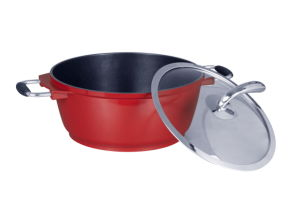 Nonstick Casting Aluminum Pots and Pans Set pictures & photos
