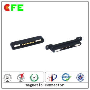 Customized 8pin Magnetic Connector for Management System pictures & photos
