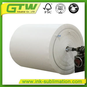 Unti-Curl Fast Dry 77g Sublimation Paper for Textile Printing pictures & photos