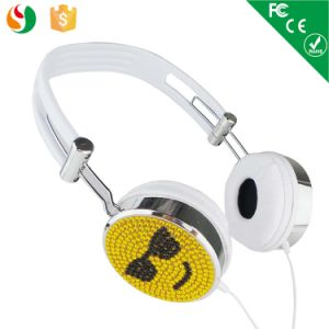 Best Quality Funky Diamond Computer Hearing Aid Headphone pictures & photos