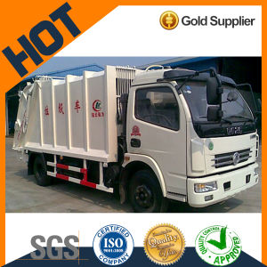 Dongfeng 8 Cubic Rhd Compression Type Garbage Truck pictures & photos