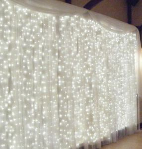3X2m 110V LED Christmas Wedding Decoration Curtain Light pictures & photos