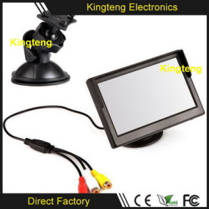 5 Inch Small TFT LCD Backup Monitor Inside Truck Motorhomes Stand Alone Car Monitor