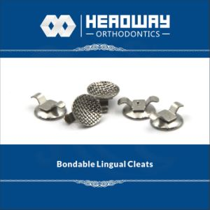 Orthodontic Product, Headway Curved Bondable Lingual Cleats pictures & photos