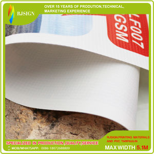 China Manufacturer of 10oz Laminated Frontlit Banner Rolls pictures & photos