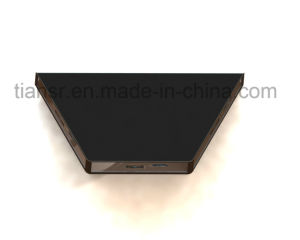 12inch Three Sides Transparent Display Stand with Viewing Angle Free pictures & photos