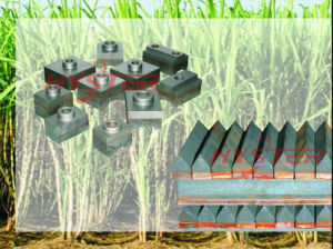 Sugarcane Bimetallic Chromium Carbide Shredder Knife Edges pictures & photos