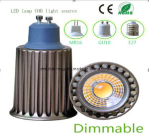 Ce and Rhos Dimmable GU10 9W COB LED Bulb pictures & photos