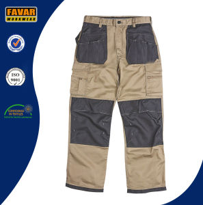 Mens Construction Woker Workwear Durable Work Cargo Pants