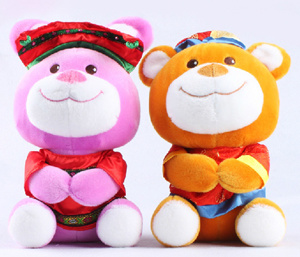 Chinese Style, Toys, Plush Toys, Stuffed Toys, Children′s Toys, Bear