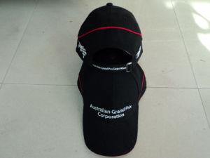 Black Sports Hats Custom Trucker Mesh Baseball Caps