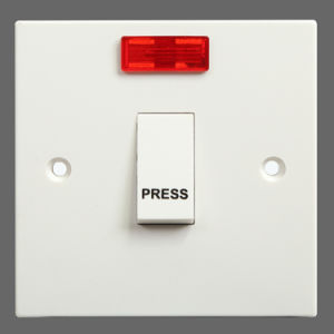 CE Approved Saso 10A Press Bell Switch with Neon