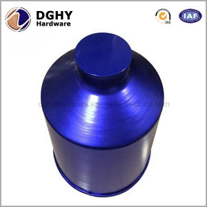 2016 Hot Sale Blue Anodized Aluminum CNC Machining Spare Parts