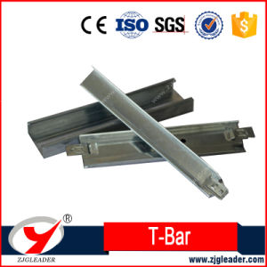 White Groove Ceiling T Bar. T Grid for Ceiling Suspension pictures & photos