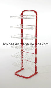 Six Tiers Wire Metal Display /Display for Supermarket Exhibition pictures & photos