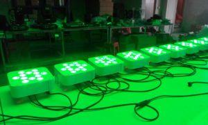 12X15W Rgbawuv 6in1 Wireless DMX PAR Uplight pictures & photos
