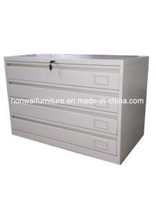 High Quality Steel Office Storage Cabinets with 4 Drawers
