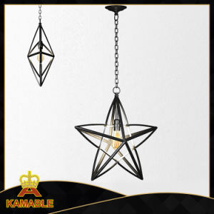 Black Steel Star Decorative Pendant Lamp (KA-AB006) pictures & photos