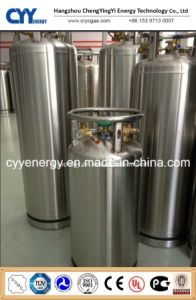 Weld Heat Insulation Cryogenic Cylinder with ASME pictures & photos