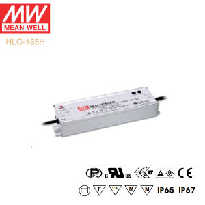 Original Meanwell Hlg-185h Series Single Output Waterproof IP67 LED Driver pictures & photos