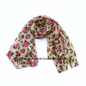 Fashion Leopard Printed Long Scarf for Lady pictures & photos